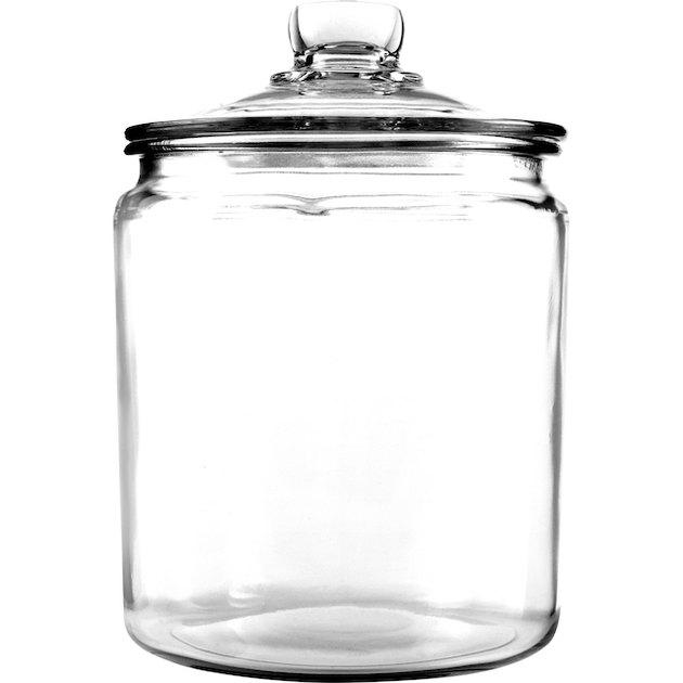Anchor Hocking Glass Heritage Jar, 1 gal