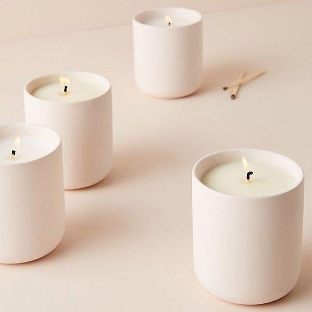 Anthropologie Ceramic Aura Candle