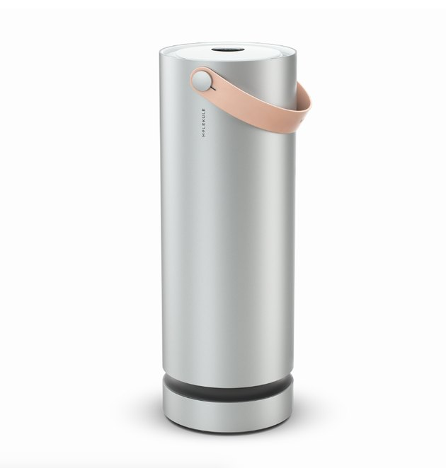 Molekule doesn't just collect pollutants—it destroys them. Beautiful outside and groundbreaking inside, it uses nanotechnology at the molecular level to eliminate airborne allergens, mold, bacteria, viruses, and volatile organic compounds (VOCs). Finally, a breath of fresh air.