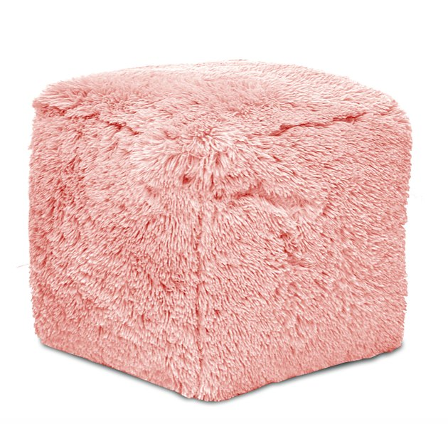 Update any room's decor with this Mainstays Long Faux Fur Pouf. Perfect for any room in your home or your dorm room, this pouf is sure to be a great accent to your decor. The Mainstays Long Faux Fur Pouf comes in a fun color that is great to match any color palette.