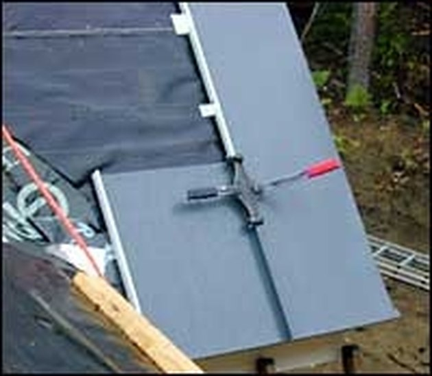 How To Install A Standing Seam Metal Roof Hunker