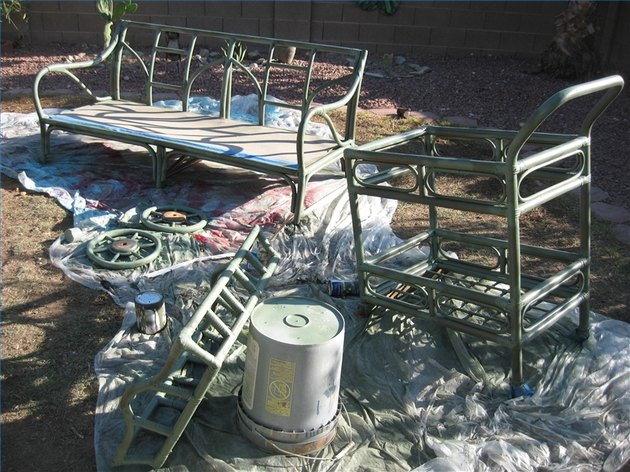 How to Paint Rattan Furniture