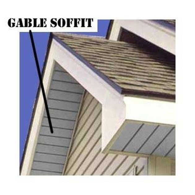 How To Install Soffits On A Gable Roof Hunker