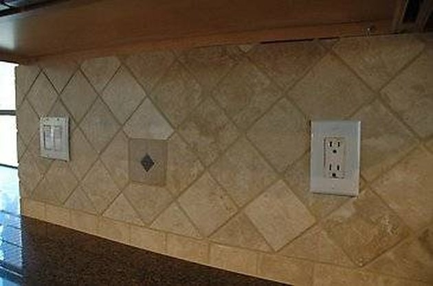 How To Install A Travertine Tile Backsplash