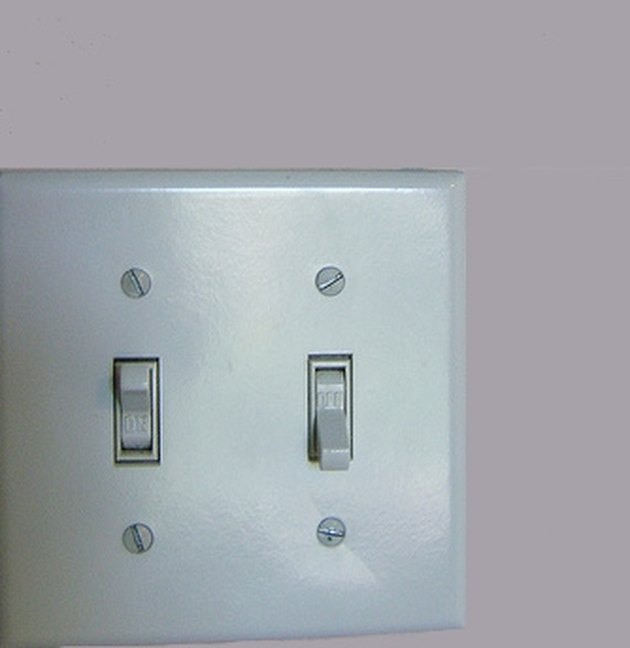 A double wall switch.