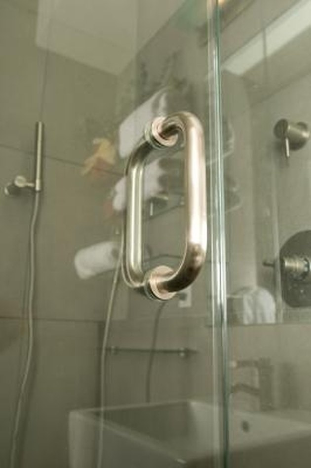 How to Clean Hard Water From Glass Shower Doors