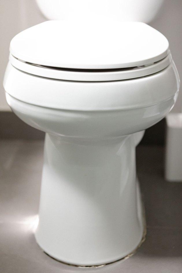 white bathroom toilet