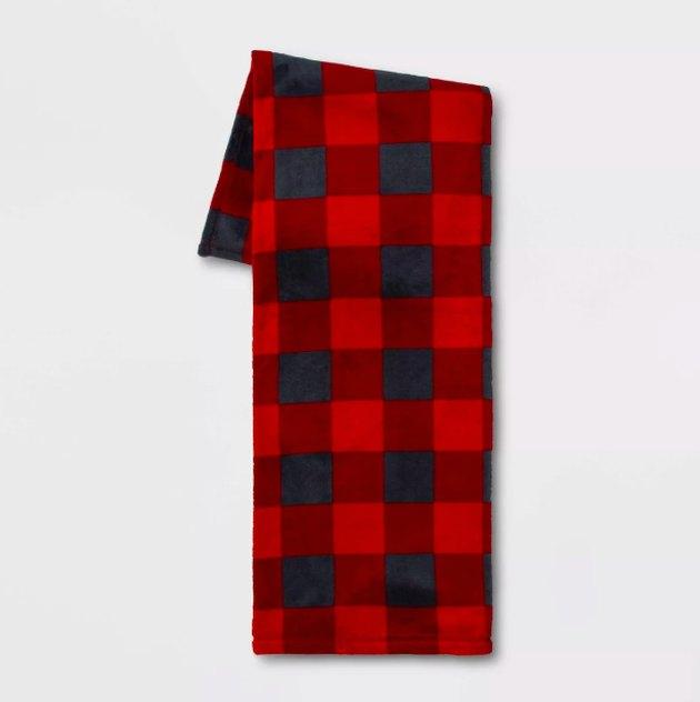 Printed Plush Throw Blanket - Wondershop™