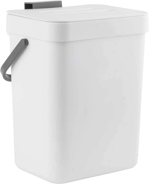 Compact, sturdy, and affordable, this compost bin is an easy choice no matter your lifestyle. With a clean and simple look, it will seamlessly blend with the rest of your kitchen. Feeling a little more vibrant? Opt for the lime green or baby blue shades.