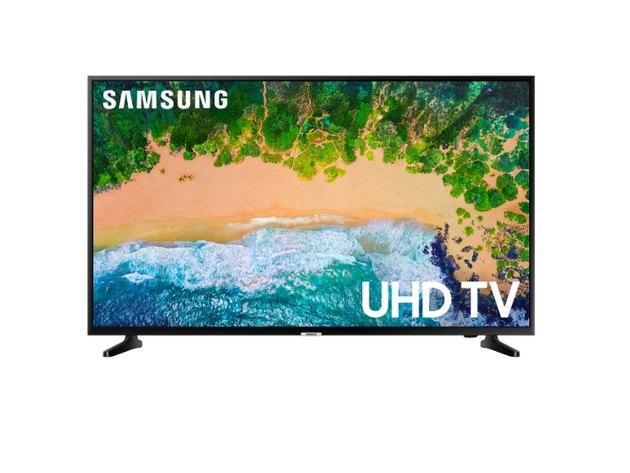 "Samsung 55"" Smart 4K UHD TV - Black"