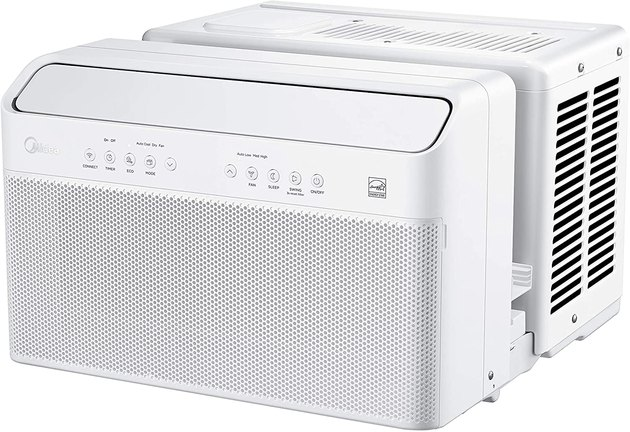 The first window air conditioning unit to receive the Energy Star Most Efficient 2020 Certification, this AC unit is easy on your energy bills while packing powerful cooling capabilities. The unit can cool rooms up to 350 square feet and it comes with its own app, so you can control it from anywhere using your phone. It's also compatible with Amazon Alexa and Google Assistant, making it that much smarter.