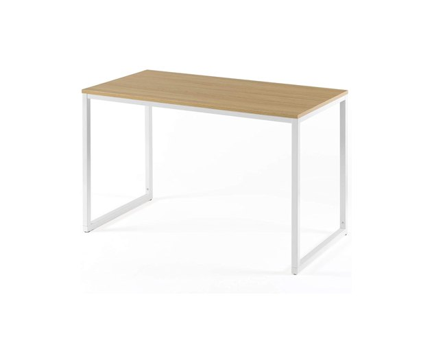 This desk will match with truly any space. The contrast between the tabletop and legs adds a little extra flair to this simplistic staple.