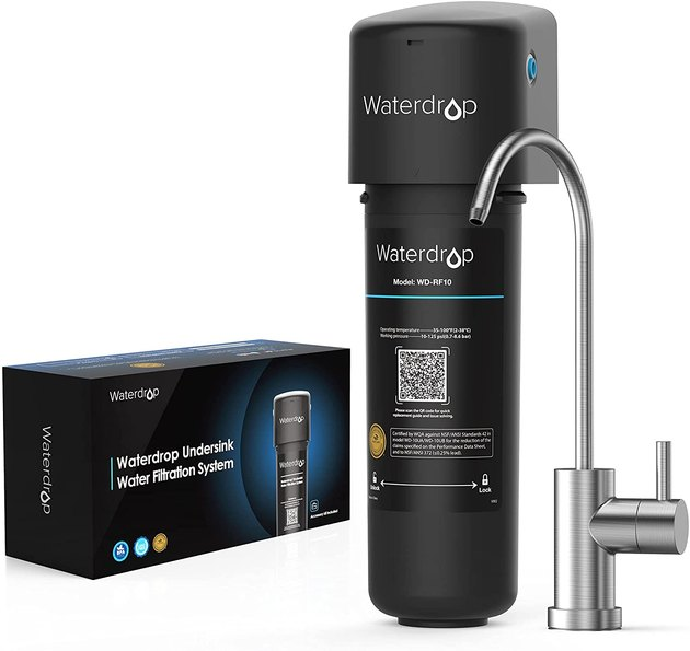 Get the most bang for your buck with this under-sink filtration system. The customer reviews really say it all.