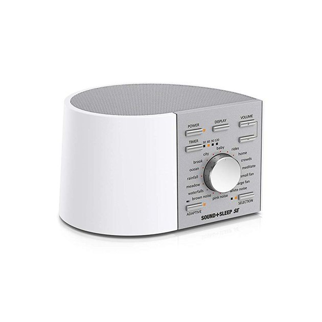 When sleep is extremely tough to come by, you need to bring in a heavy hitter like this device, which offers 64 immersive, non-repeating sounds to promote deeper sleep and relaxation.