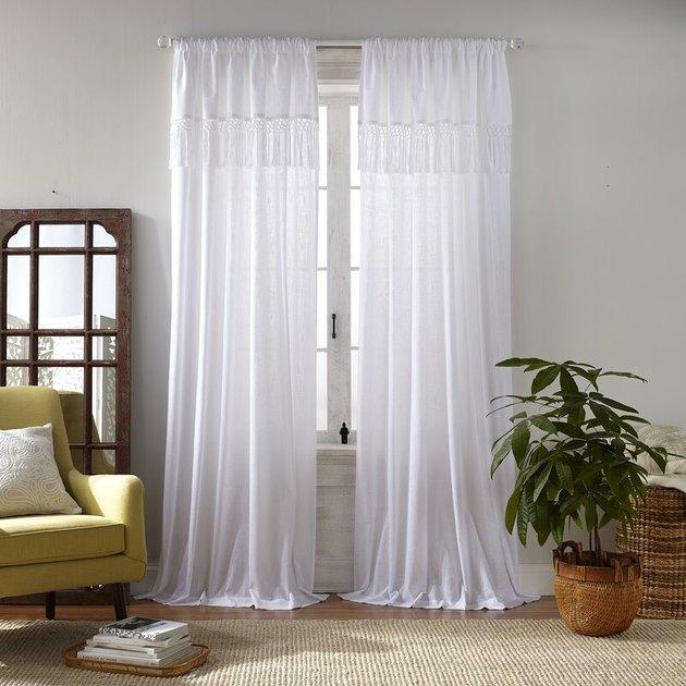 Joplin Semi-Sheer Rod Pocket Curtains