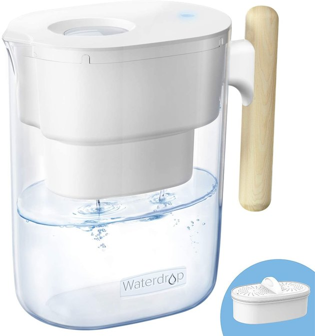 This Waterdrop model is not only cool-looking and super affordable but also maintains incredibly high filtration quality.