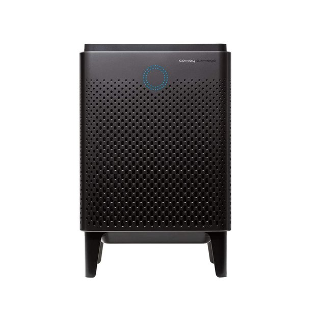 This air purifier cleans the air twice per hour and comes with a combined activated carbon and HEPA filter that does a killer job of ridding the air of pollutants and allergens.