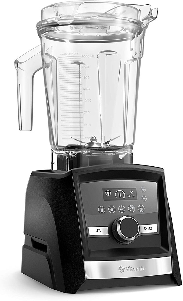 Get tech-savvy in the kitchen with one of Vitamix's quieter models — the Vitamix A3500 Ascent Series Smart Blender  — which is paired with a Smart Scale. It also has a sleek design with touchscreen controls. The blender also comes with Vitamix's 10-year warranty.