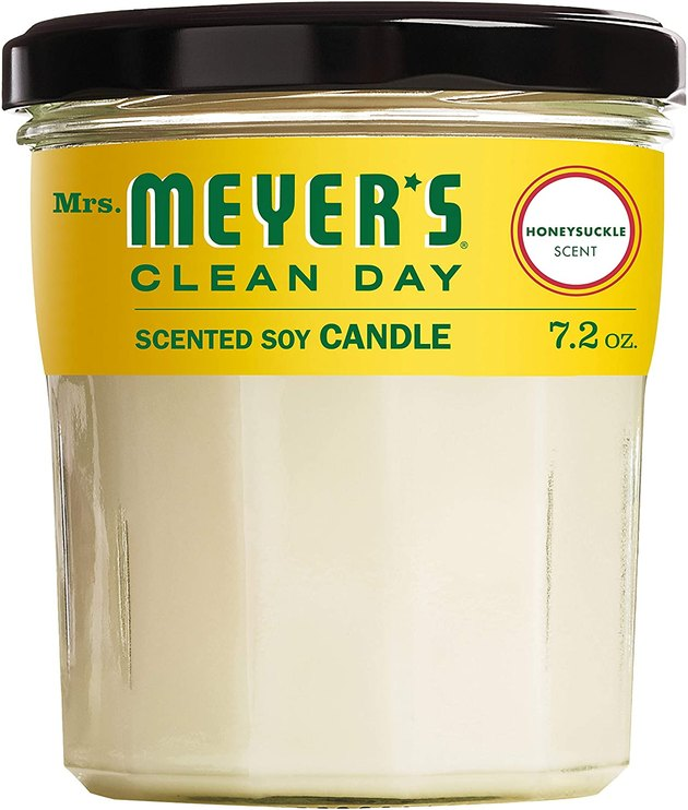 Weighing in at 7.2 ounces and a price tag of under $10, Mrs. Meyer's candles are tough to beat. With a range of garden-inspired scents, you can burn sweet and fresh scents for up to 35 hours. This candle is not only cruelty-free, made with renewable ingredients — including soy and vegetable wax — and a nonmetal, lead-free candle wick, but it also comes in a mason jar that you can reuse or recycle.