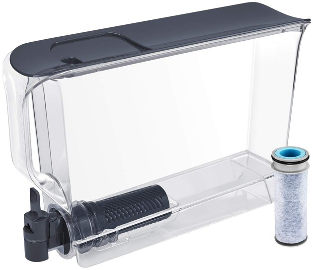The Brita's reliable UltraMax is slim and space-efficient while still managing to hold 25 cups of water.
