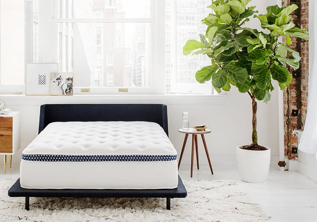 The base of the mattress features an individually wrapped coil support system that gives your spine plenty of support, while two layers of gel-infused, quilted foam on top of the base provide enough comfy softness to prevent pressure points.