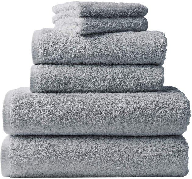 Premium long-staple Turkish cotton means less pilling over time and added softness, and you can rest easy knowing that your towels are truly organic in origin and created by a brand that puts environmentalism first. Sure, they're pricey—but in our opinion, well worth it.