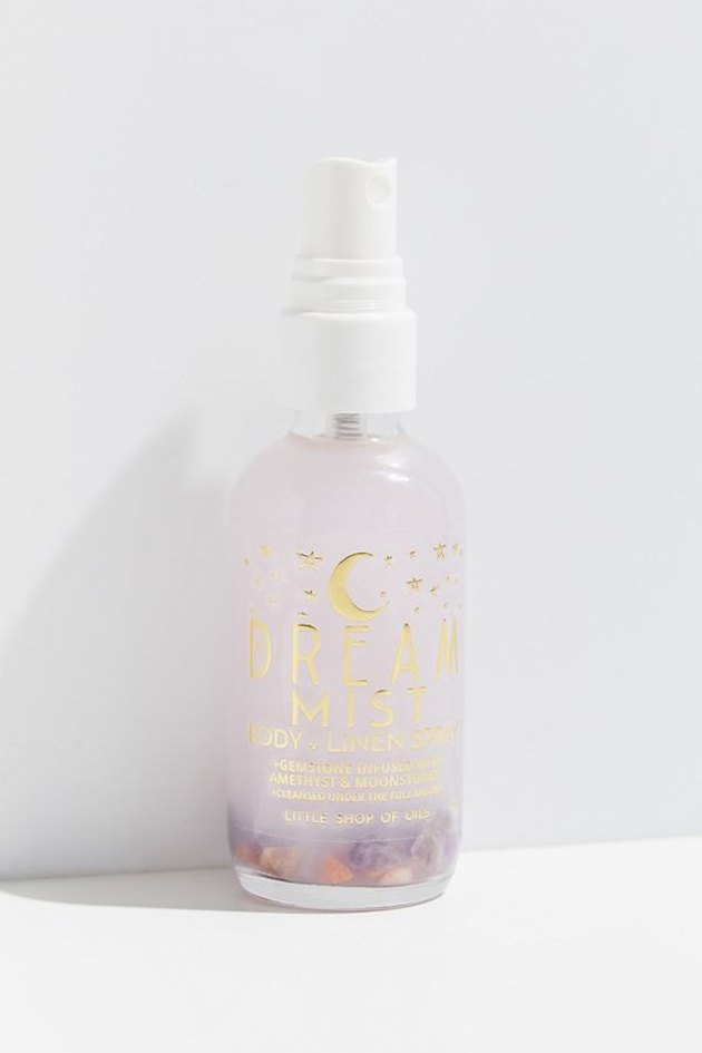 When the yawns come on it's time to spray down your room – and even body – with this essential oil mist by Little Shop of Oils that induces feelings of relaxation. Surround yourself with the sweet smells of lavender, chamomile and marjoram, as well as the warm aromas of vanilla and sandalwood.