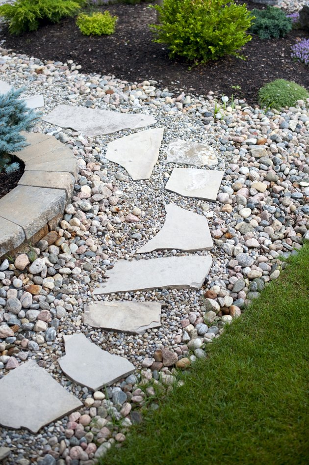Landscaping Ideas for a Triangle-Shaped Back Yard   Hunker on Triangle Shaped Backyard Design id=32695