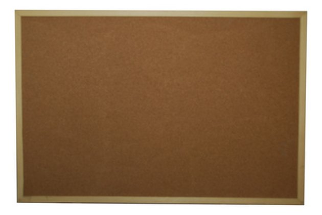 How to Clean a Cork Bulletin Board