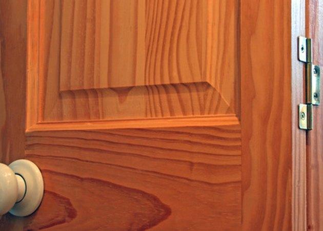How To Sand Raised Panel Doors Hunker