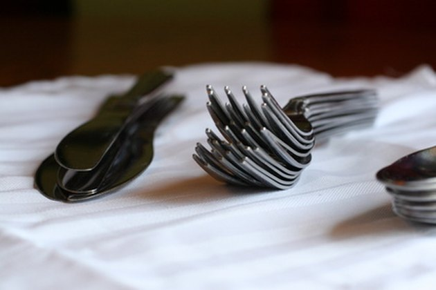 How to Clean Tarnished Silver Plated Silverware