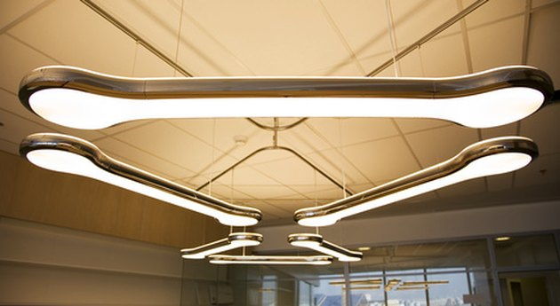 ideas for ugly fluorescent ceiling fixtures in the kitchen