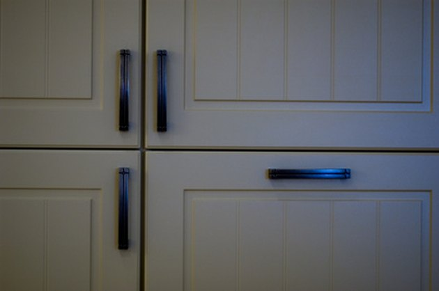 How To Paint Vinyl Kitchen Cabinets Hunker