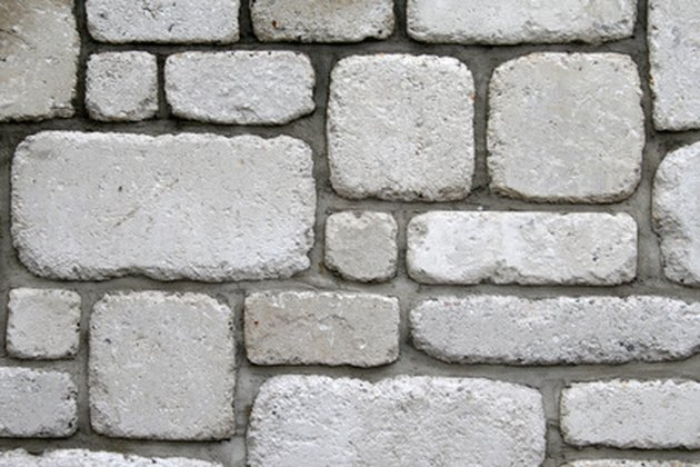 How to Add a Stone Face to Cinder Block