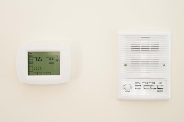 Thermostat and intercom