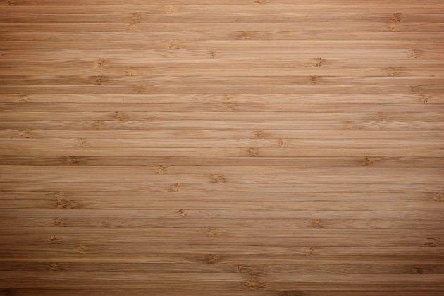 Bamboo Board - Stock Image
