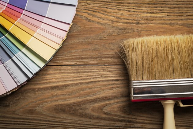 Colour Chart and a Wallpaper Brush