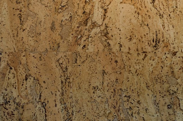 Rich cork patterned texture