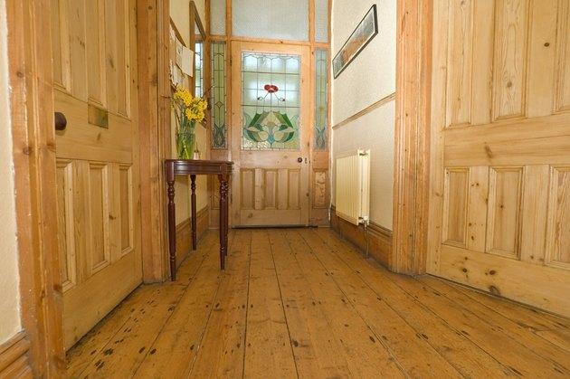 Pine Hallway