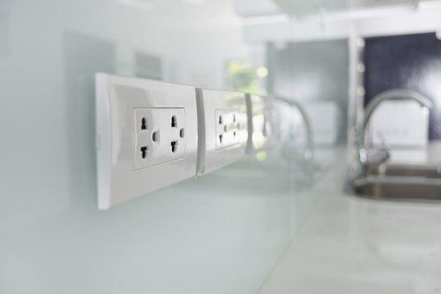 Electrical plug interior