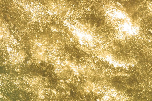 Abstract gold surface