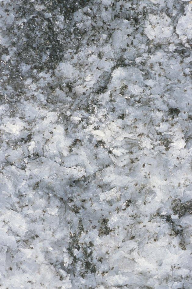 Close up of quartz rock