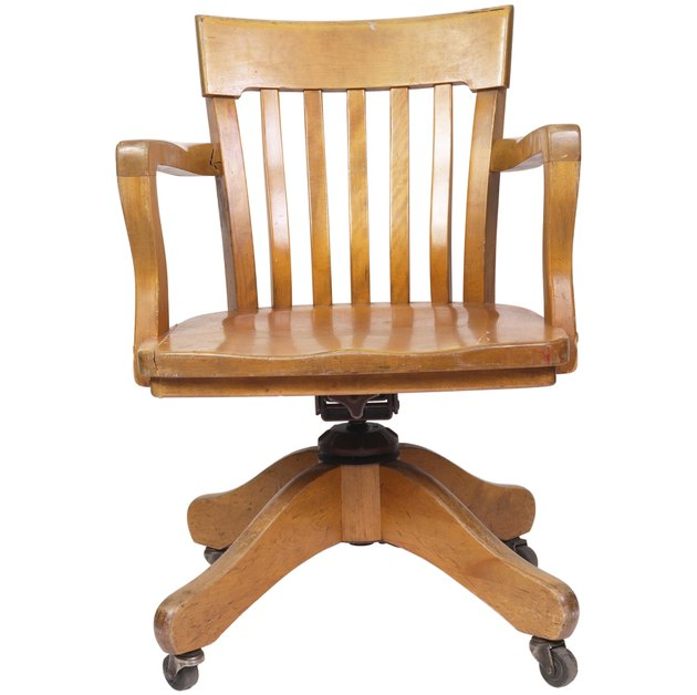 Wood Swivel Chair