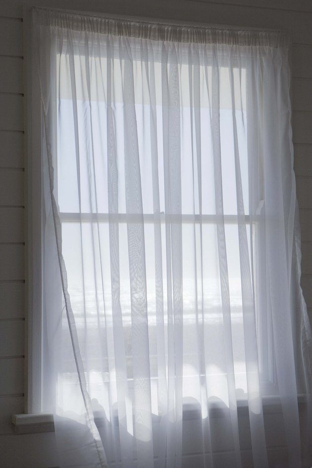 Window with sheers