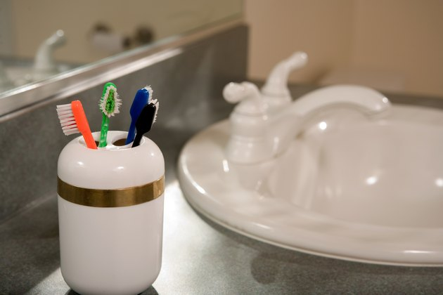 Toothbrush caddy