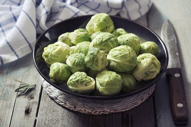 Fresh brussels sprout