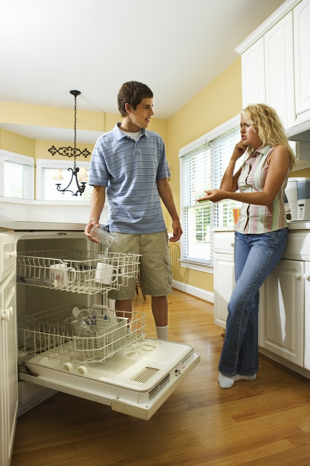 What Causes Black Residue In A Whirlpool Dishwasher Hunker