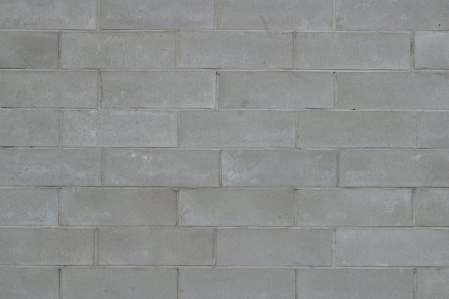 How To Stain A Concrete Block Wall Hunker