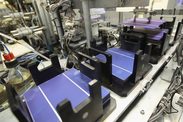 Aleo Produces Solar Panels