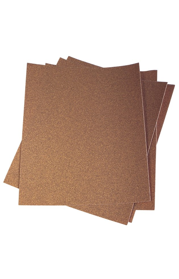 Sheets of sand paper